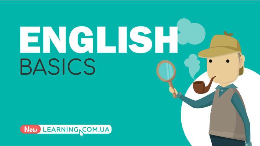 English: Basics